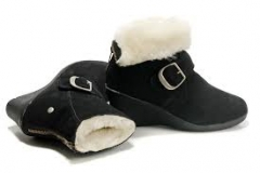 Women's Wedge Boots With Fur