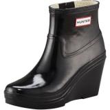 Black Hunter Wedge Rain Boots