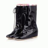 Hidden Wedge Rain Boots