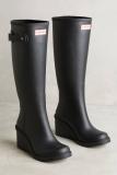 Wedge Rain Boot