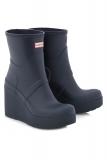 Short Wedge Rain Boots
