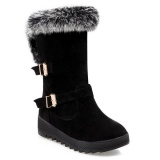 Hidden Wedge Snow Boots