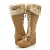 Winter Snow Boots with a Wedge