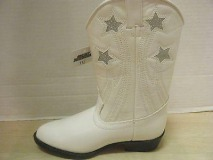 Girls White Cowgirl Boots