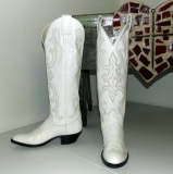 Tall White Cowgirl Boots