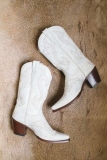 White Cowgirl Boots for Prom