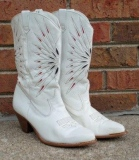 White Cowgirl Boots for Women