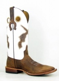 White Cowgirl Boots with Guns