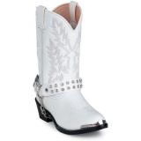 White Rhinestone Cowgirl Boots