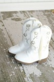 White Toddler Cowgirl Boots