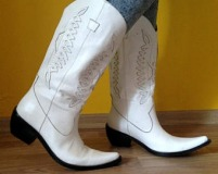 White Western Cowgirl Boots