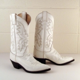 Womens White Cowgirl Boots