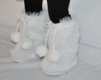 Fur Boots White