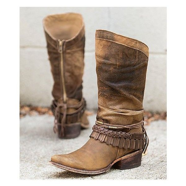 Super Wide Calf Cowgirl Boots VV06
