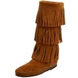 3 Layer Fringe Boots