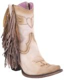 Wide Calf Fringe Cowboy Boots