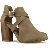 Women's Dress Ankle Boots Low Heel