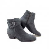 Women's Low Heel Ankle Boots