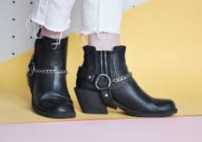 Women's Harness Ankle Boots