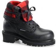 Black Women's Logger Boots