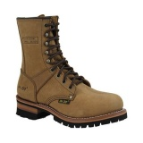 Brown Women's Logger Boots