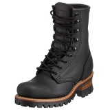 Women Lace Up Logger Boots