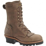 Womens Logger Boots Steel Toe