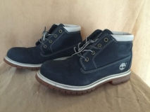 Navy Women's Nellie Waterproof Chukka Boots