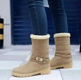 Women Pull On Winter Boots