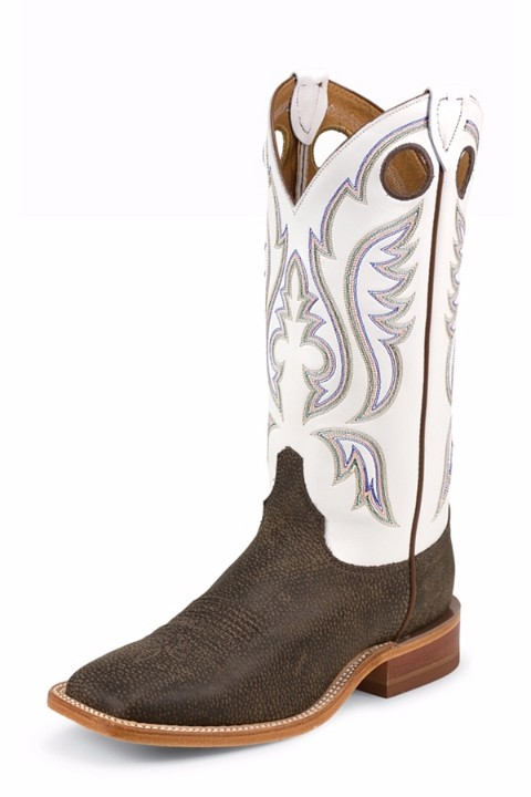 White And Brown Cowgirl Boots