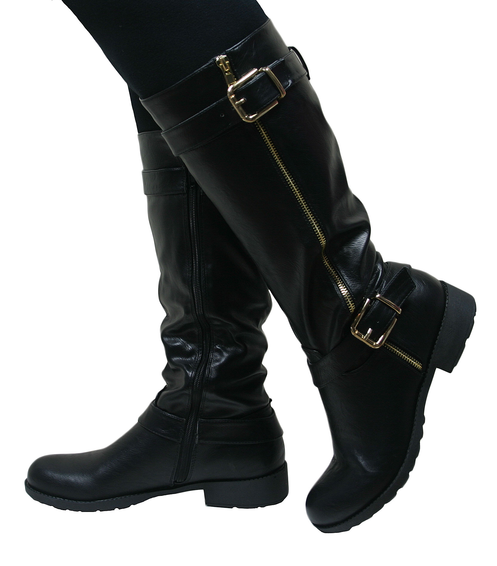 Low Heel Womens Motorcycle Boots Online Boots