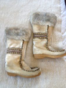Eskimo Boots with Fur for Women