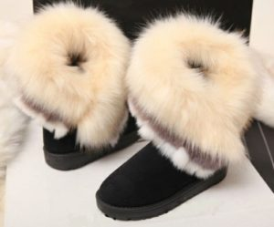 Eskimo Boots with Long Fur