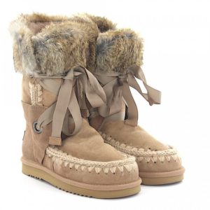 Eskimo Suede Boots with Fur