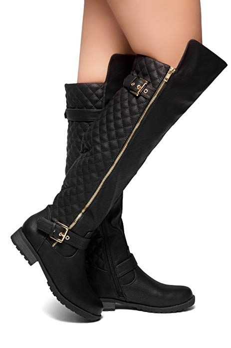 a79bd56dfaa2 Extra Wide Calf Over The Knee High Boots - Best Picture Of Boot ...