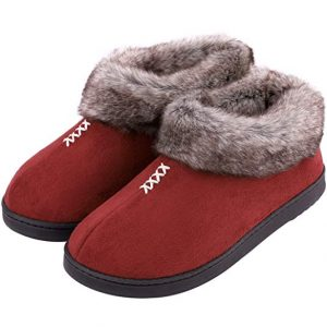 Boots Topped With Fur