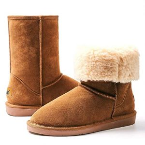 Boots With Fur Top