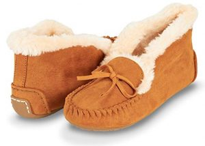 Faux Women Shoes with Fur On Top