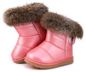 Fur Top Boots For Kids