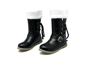 Black Fleece Lined Women's Boot