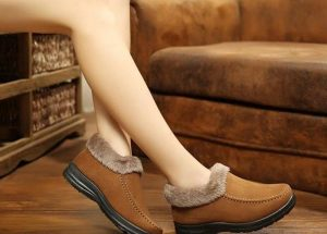 Fleece Lined Ankle Boots