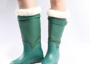 Fleece Lined Women Rain Boots