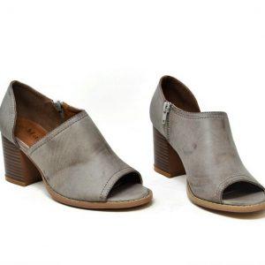 Peep Toe Cutout Ankle Boots