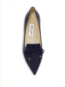 Black Pointed Toe Flats Loafers