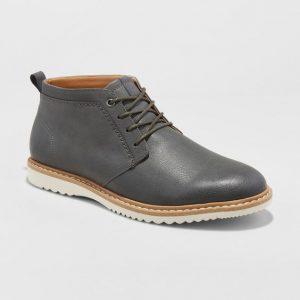 Gray Chukka Boots Men's