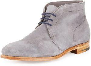 Gray Men's Chukka Boots