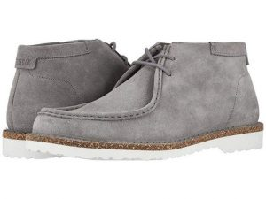 Mens Gray Chukka Boots