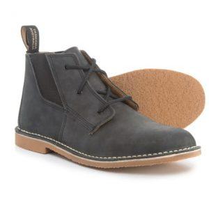 Men's Leather Chukka Boots