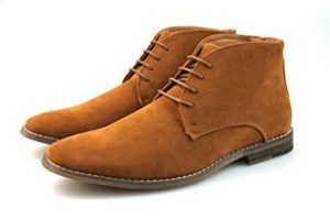 Mens Tan Chukka Boots