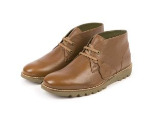 Mens Tan Chukka Shoes